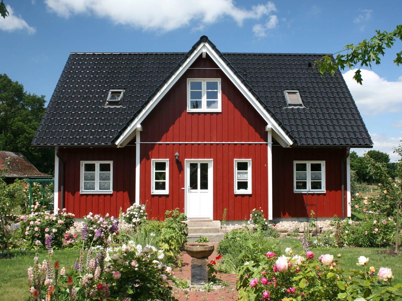 Aussenansicht 2 Haus Göteborg von Fjorborg