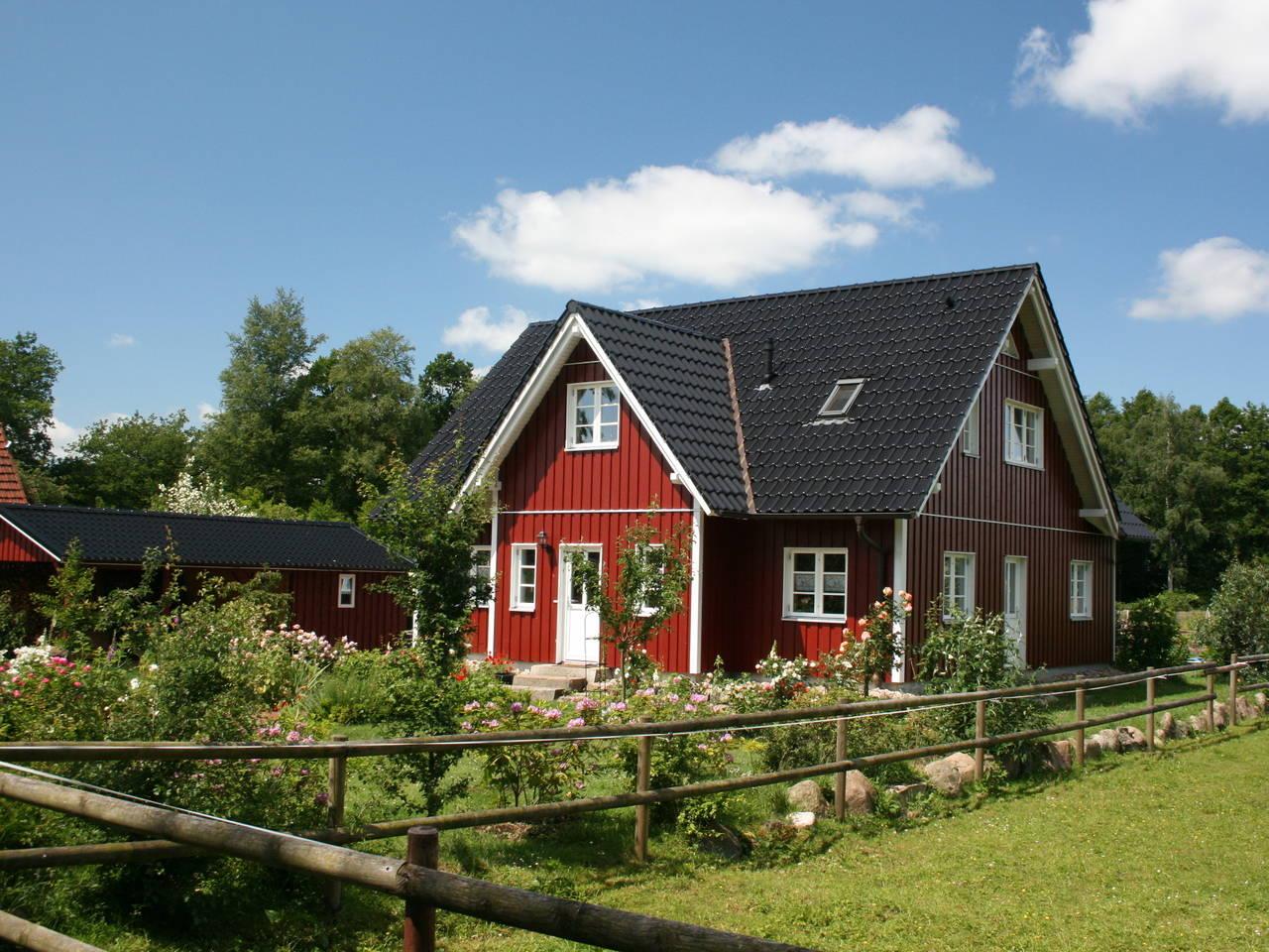 Aussenansicht 3 Haus Göteborg von Fjorborg