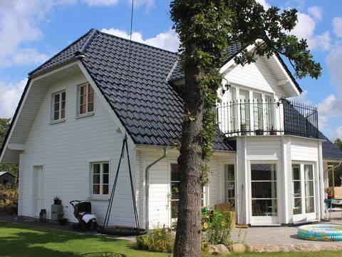 Aussenansicht Haus Helsingör von Fjorborg
