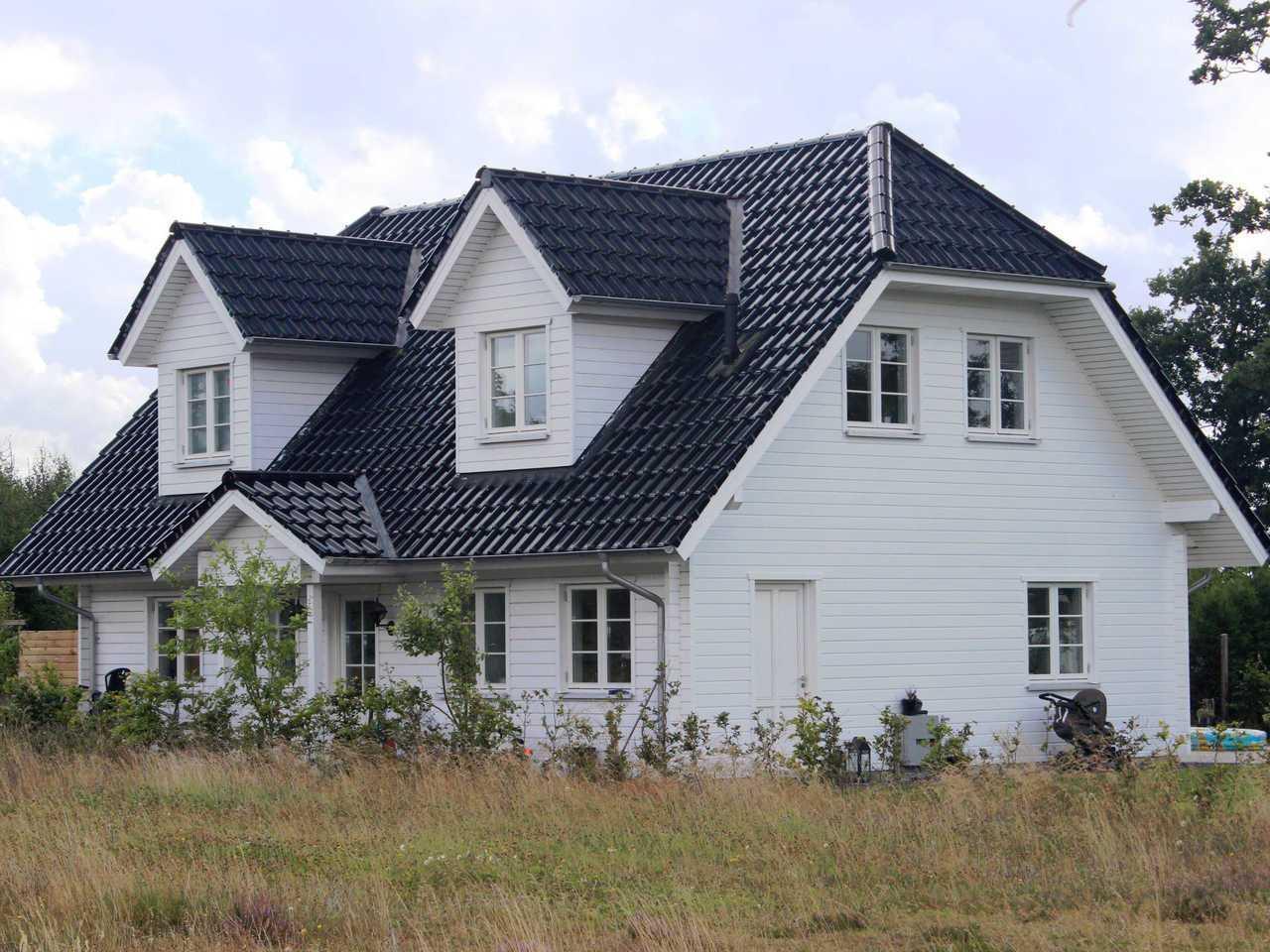 Helsingör Holzhaus Fjorborg Häuser Ansicht 3