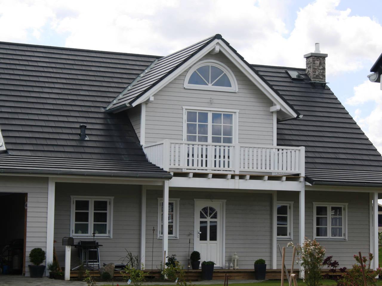 Aussenansicht 2 Haus Hölbäk von Fjorborg