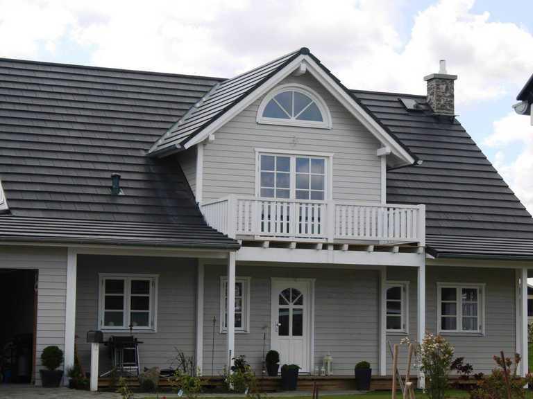 Holbäk Holzhaus Fjorborg Häuser, Ansicht 2