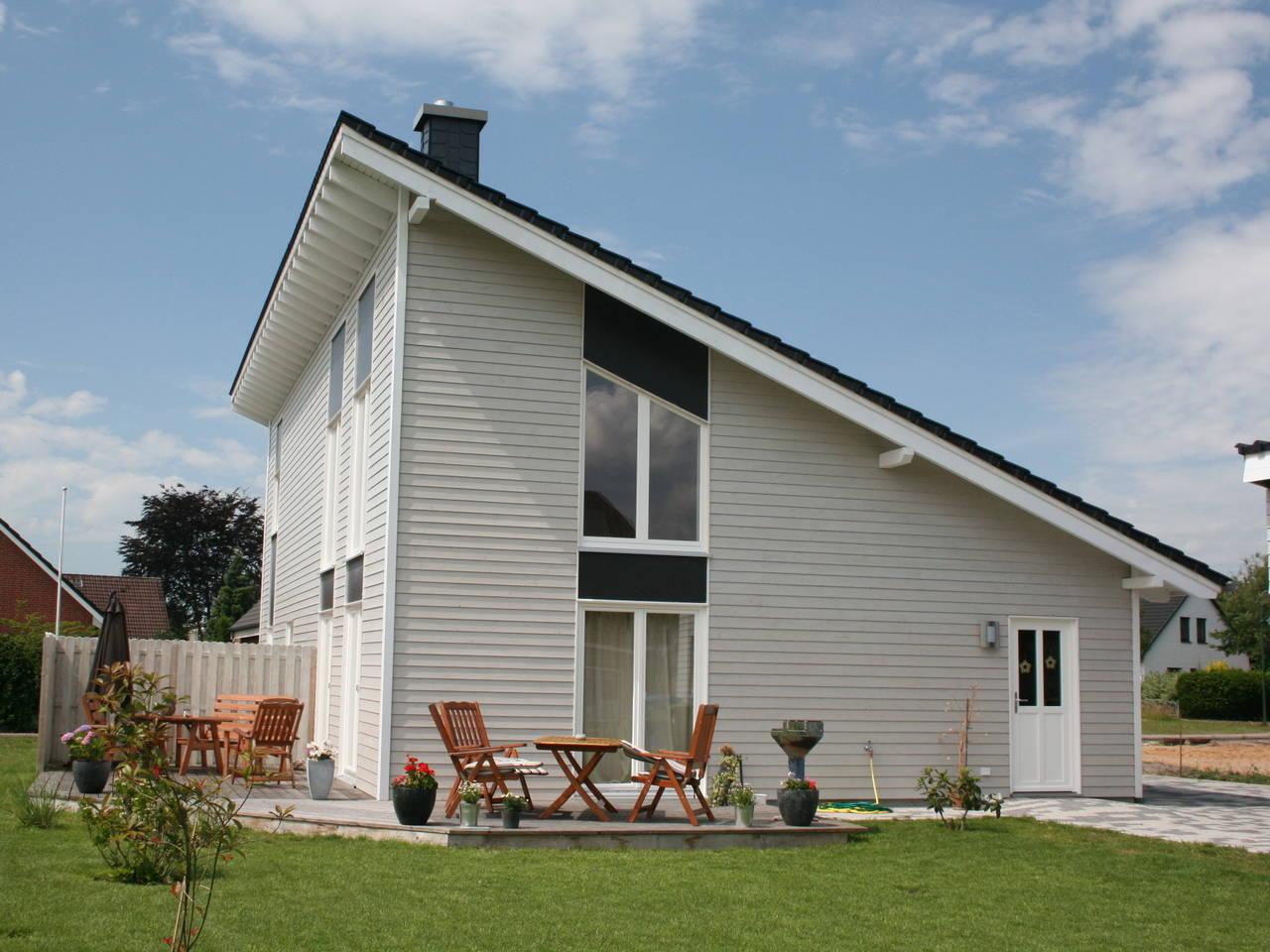 Aussenansicht Haus Lökken von Fjörborg