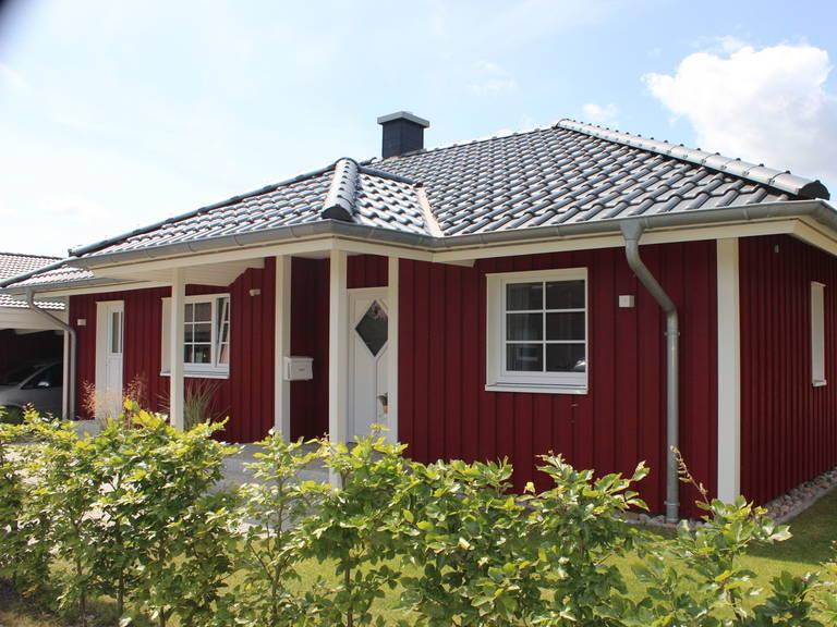 Aussenansicht Trelleborg von Fjorborg
