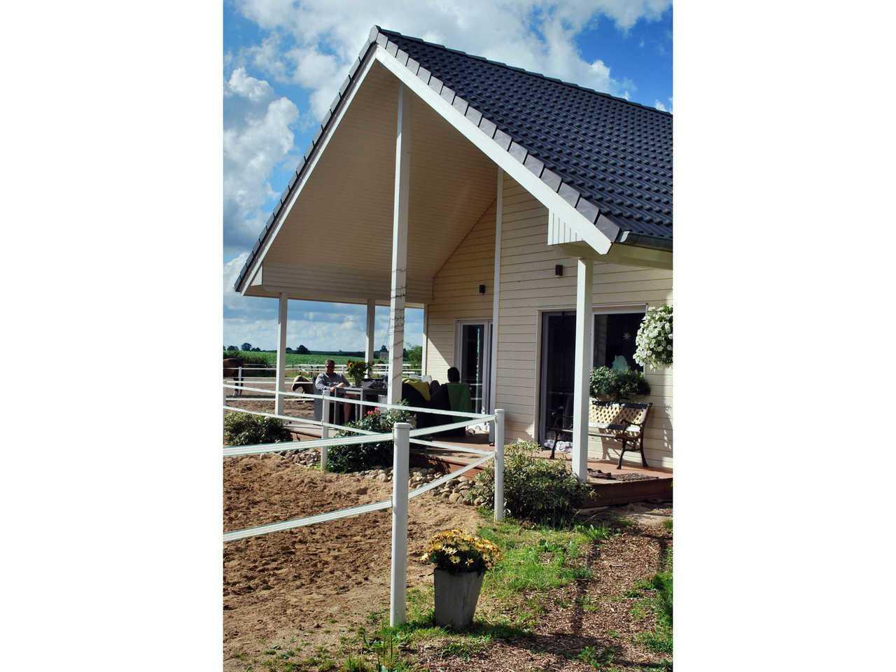 Aussenansicht 3 Haus Tunö von Fjorborg