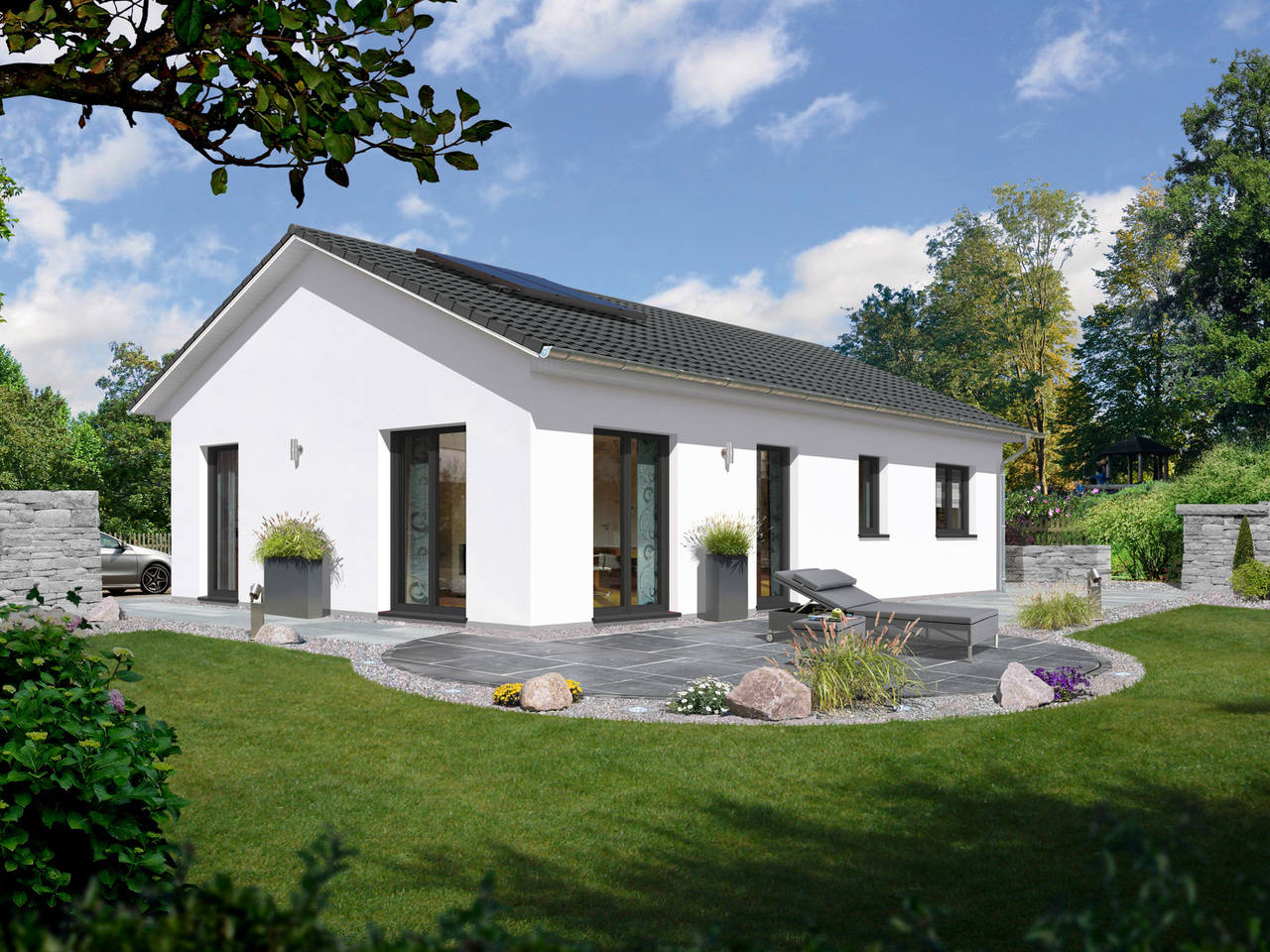 Bungalow 100 elegance A3 von FIMA Hausbau