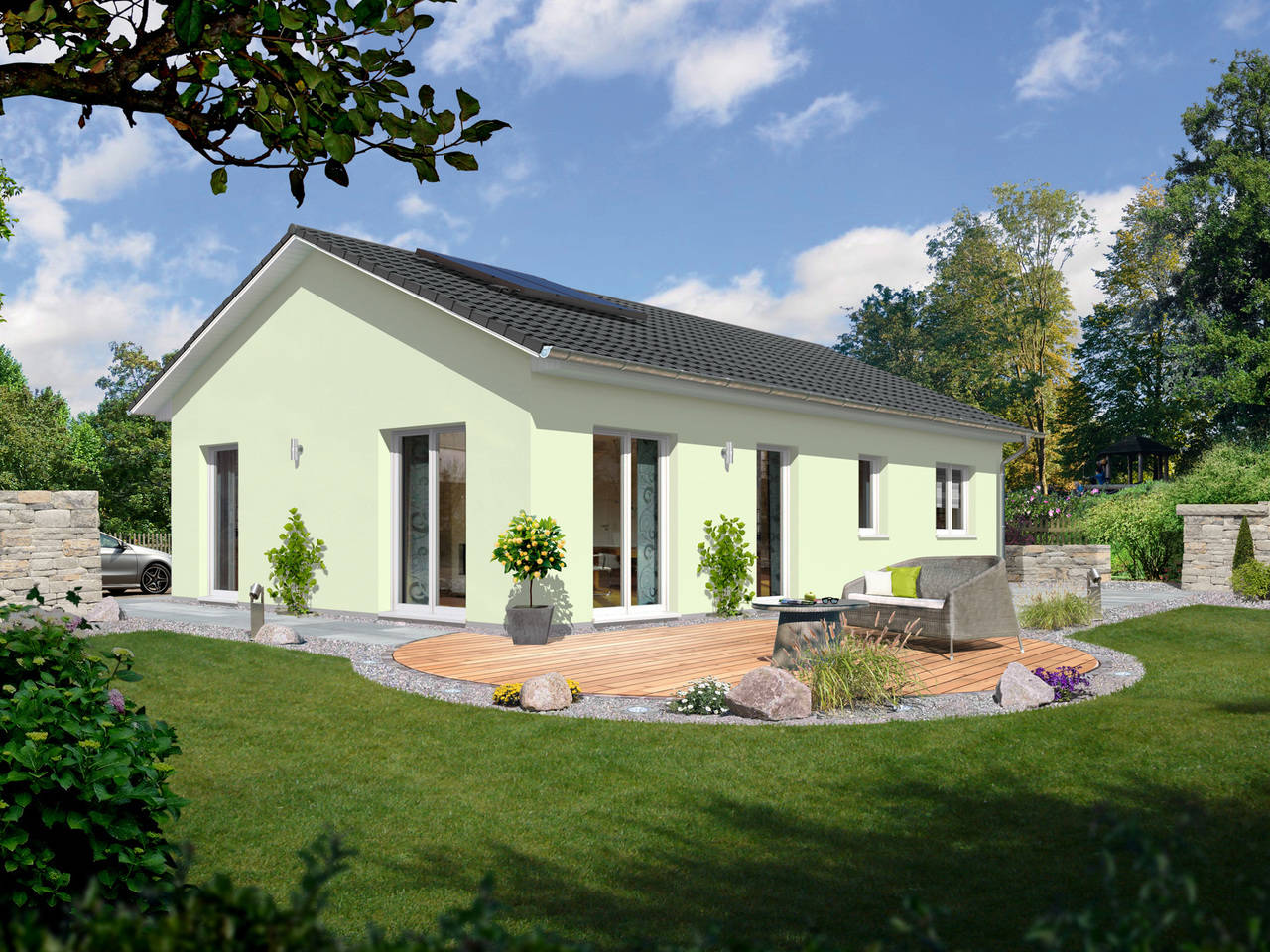 Bungalow 100 trend A2 von FIMA Hausbau