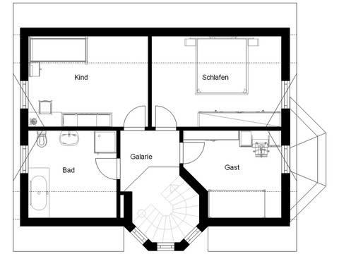 White Pearl 1 Grundriss Dachgeschoss