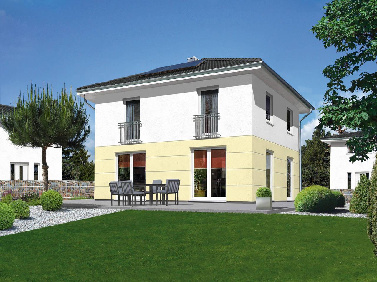 Stadthaus Flair 124 A1 von ZuHause Bau GmbH - Town & Country