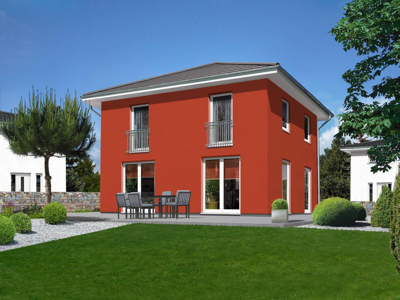 Stadthaus Flair A3 von ZuHause Bau GmbH - Town & Country