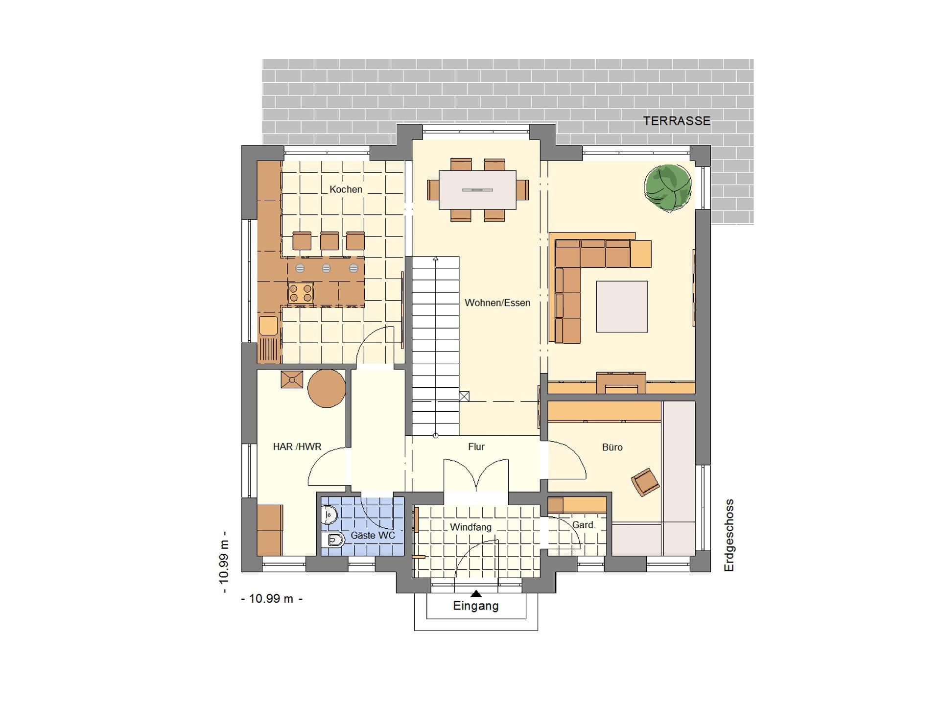 einfamilienhaus 176 schuckhardt massiv haus. Black Bedroom Furniture Sets. Home Design Ideas