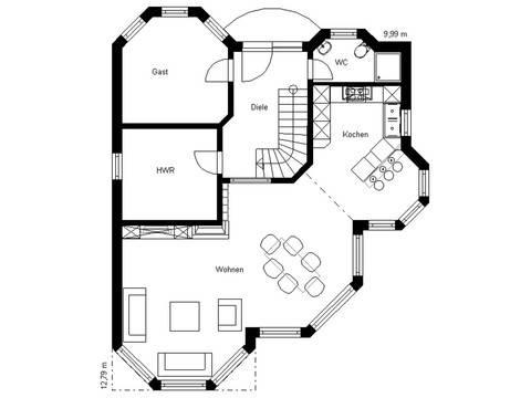 White Pearl 150 Grundriss Erdgeschoss