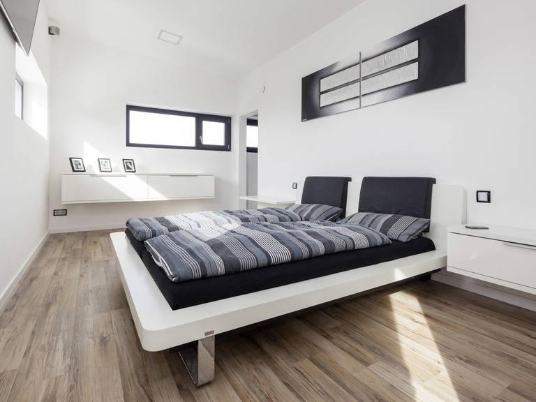 Bauhaustyp 1 Schlafzimmer von Zimmermann Haus