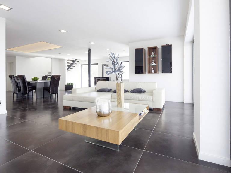 Bauhaustyp 1 Wohnzimmer von Zimmermann Haus