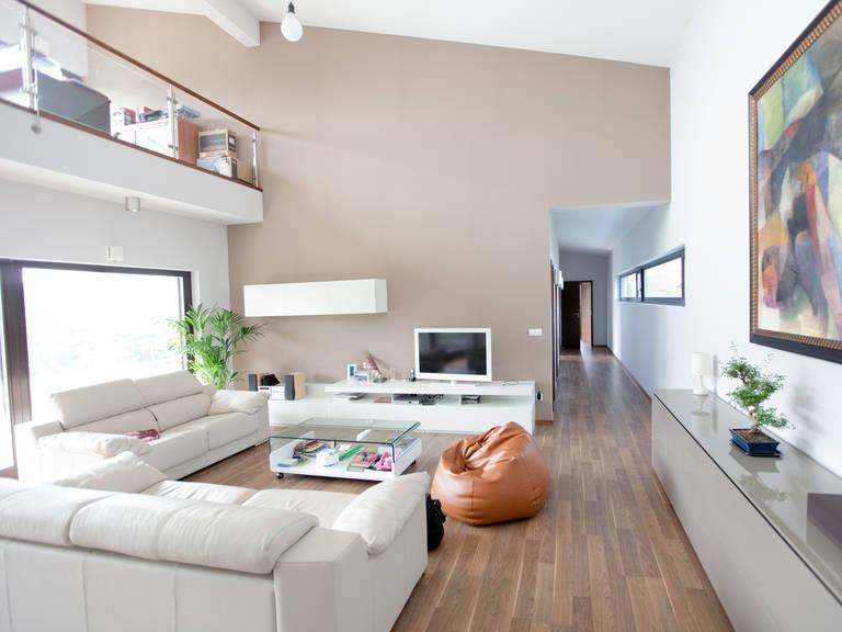 Bauhaus Typ 2 Wohnzimmer von Zimmermann Haus