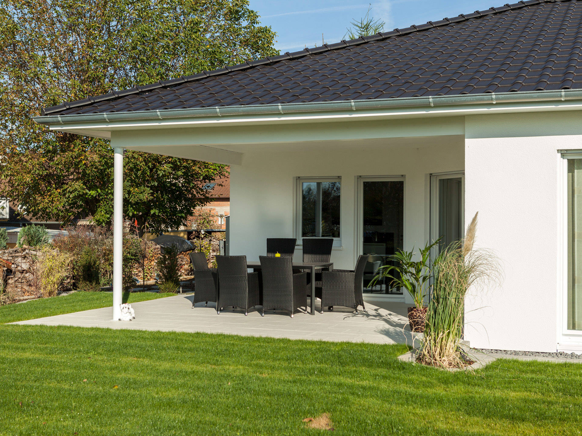 bungalow 130 zimmermann haus. Black Bedroom Furniture Sets. Home Design Ideas