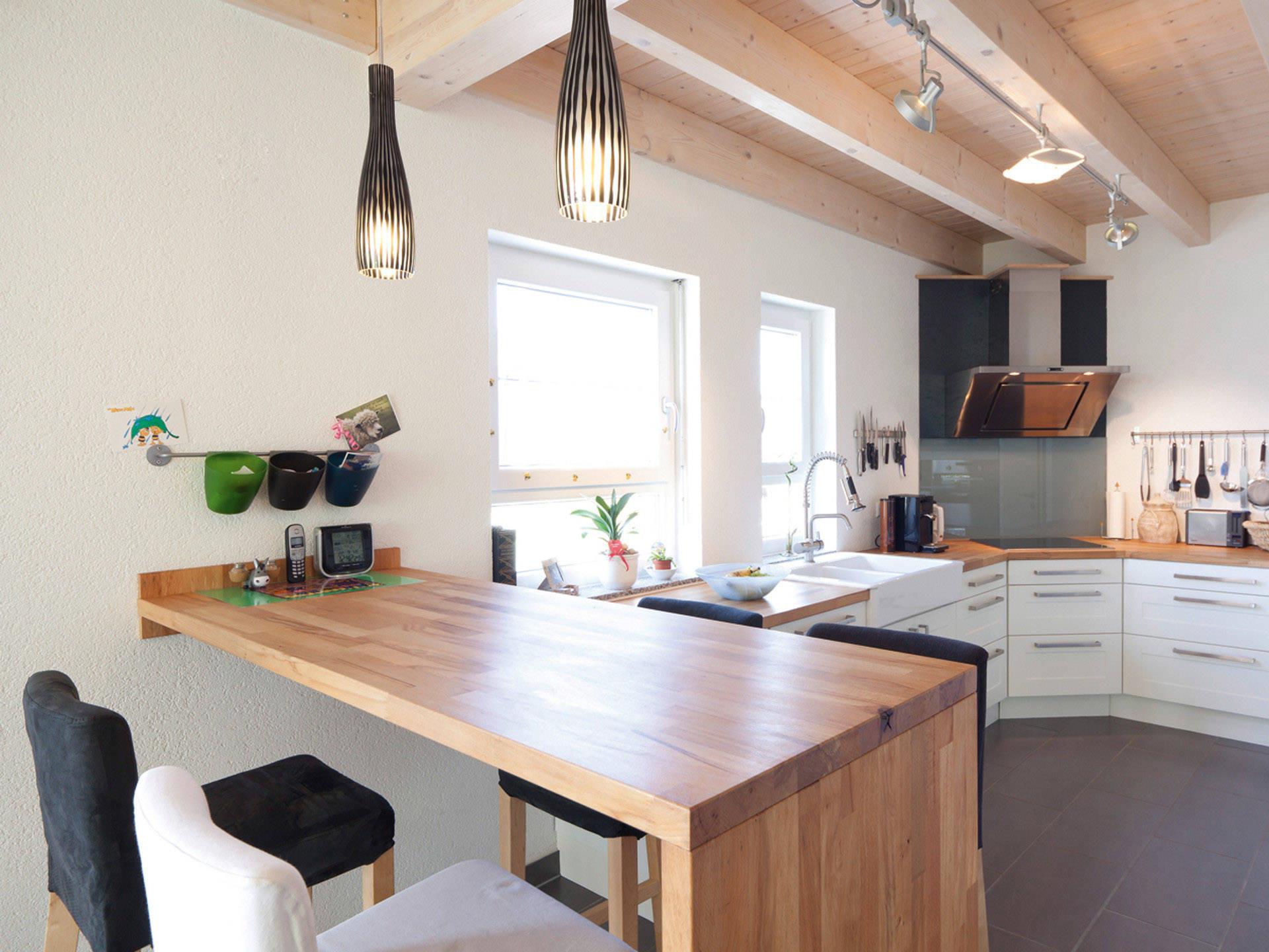 Individuelles Haus 2 Küche von Zimmermann Haus