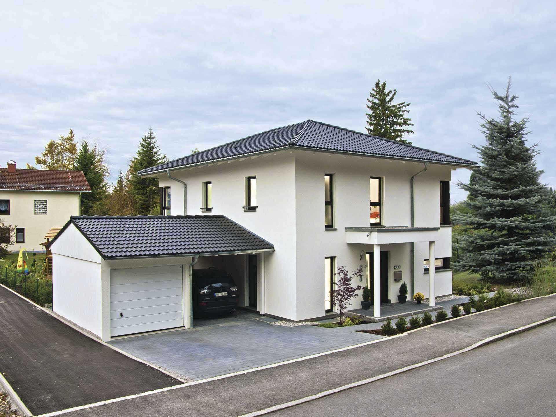 Haus citylife 200 weberhaus for Walmdach modern