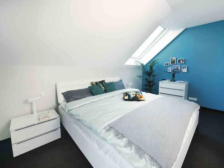 Musterhaus Balance 250 - WeberHaus Schlafzimmer