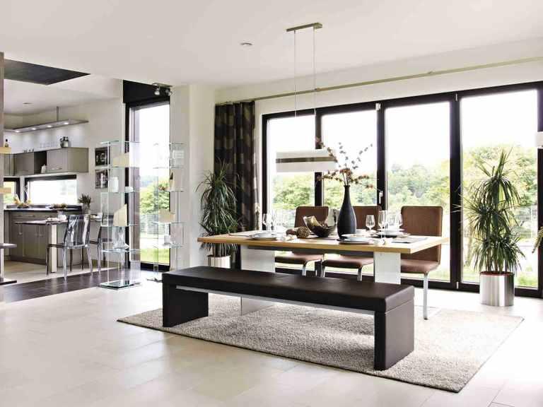 Haus Balance 400 - WeberHaus Wohnbereich