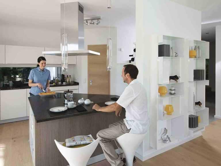 Musterhaus CityLife - Haus 700 in Rheinau-Linx Offene Küche