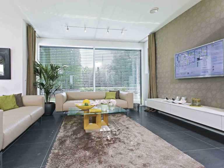 Musterhaus CityLife 250 - WeberHaus Wohnzimmer