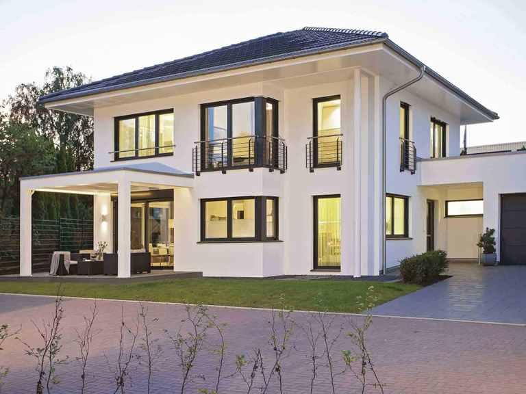 Musterhaus CityLife 250 - WeberHaus Terrasse