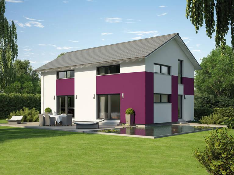 Hausentwurf Satteldachhaus von Okal