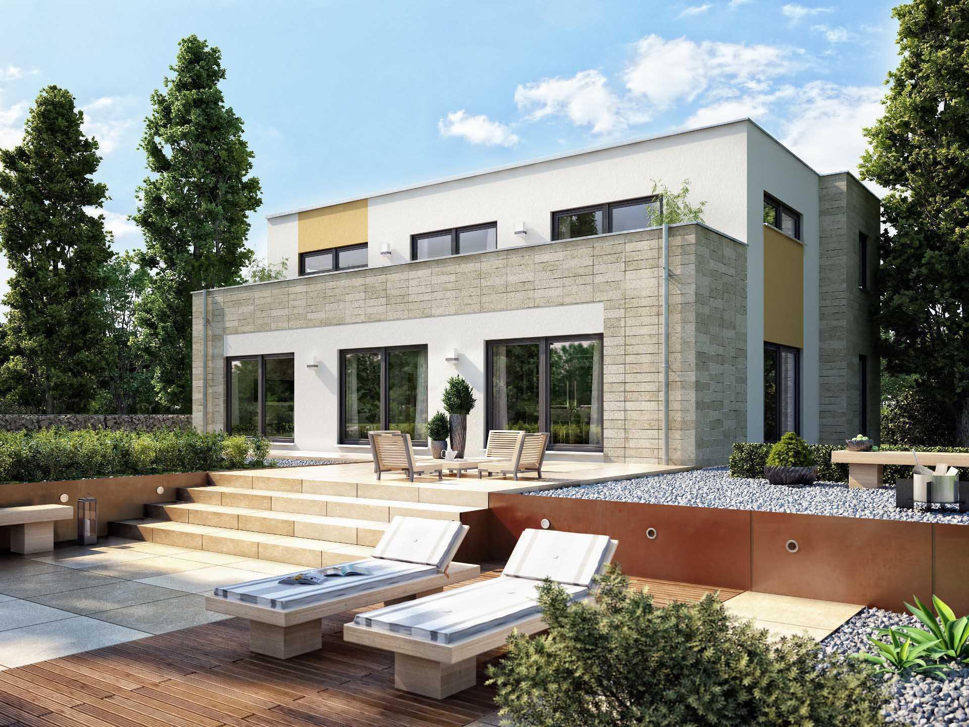 Hausentwurf Sonnenterrasse - OKAL Haus