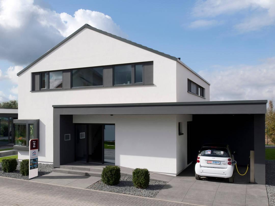Musterhaus concept m 172 k ln bien zenker for Fertighaus grundrisse einfamilienhaus