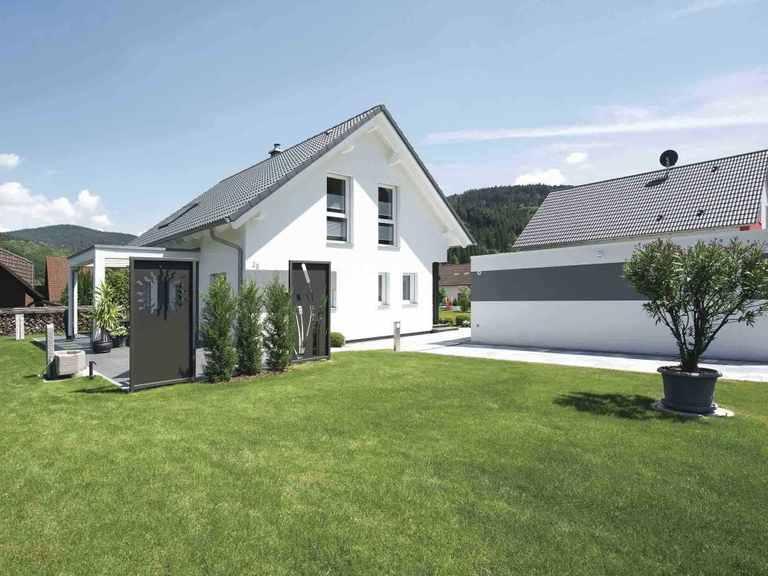generation5.5 - Haus 100 - WeberHaus Gartenansicht