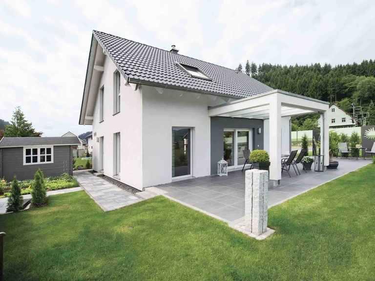 generation5.5 - Haus 100 - WeberHaus Terrasse
