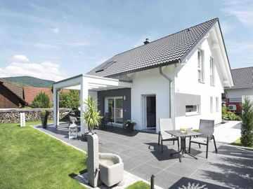 satteldach alle infos zur beliebtesten dachform inkl hausbeispiele. Black Bedroom Furniture Sets. Home Design Ideas