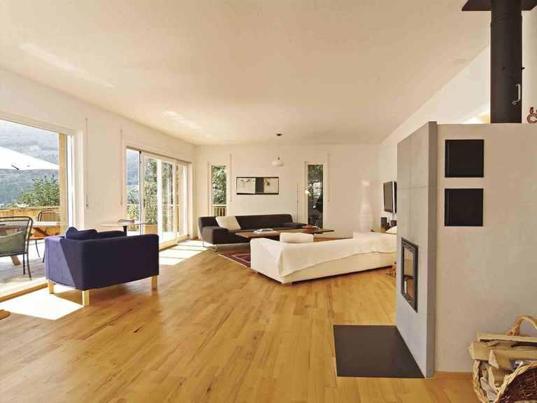 Haus Balance 300 - WeberHaus Wohnzimmer