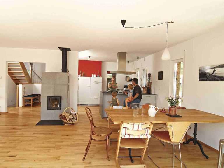 Haus Balance 300 - WeberHaus Essbereich