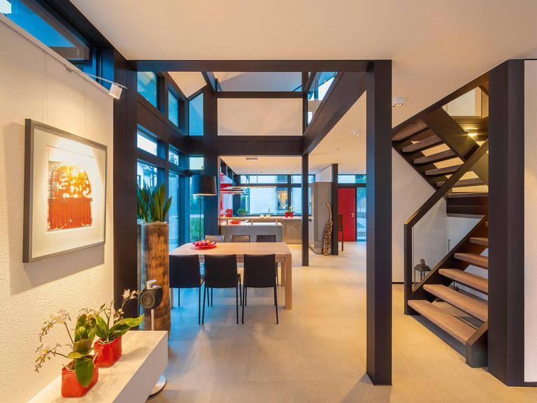 HUF Haus modum: 8:10 Eingangsbereich