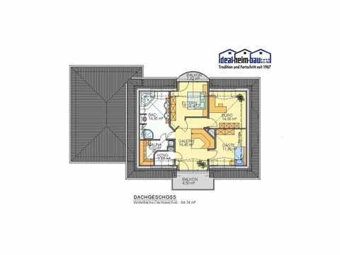 Villa Valencia - ideal-heim-bau Grundriss DG