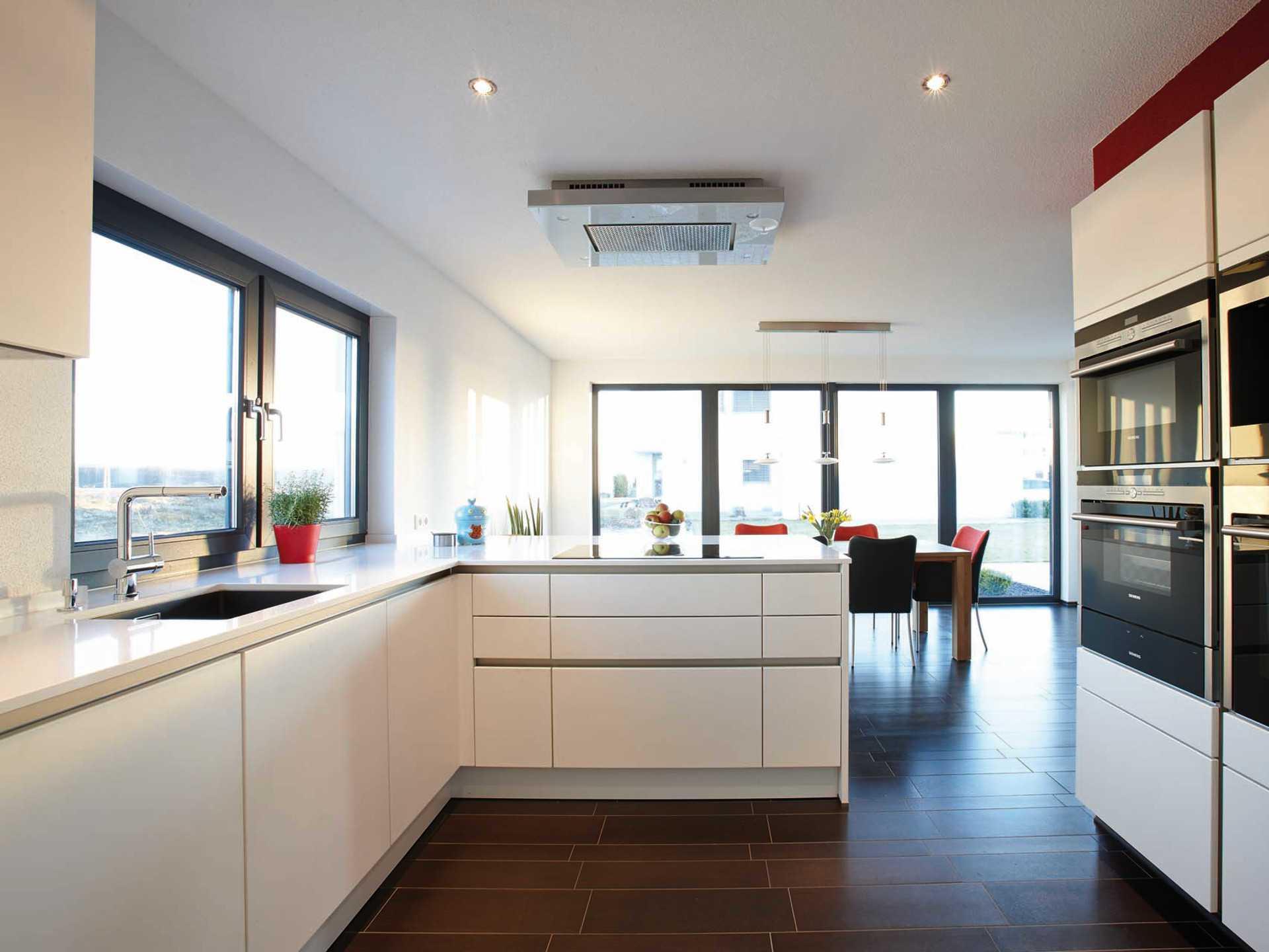 Fantastisch Zweistöckige Häuser Plant Küche Im Obergeschoss Bilder ...