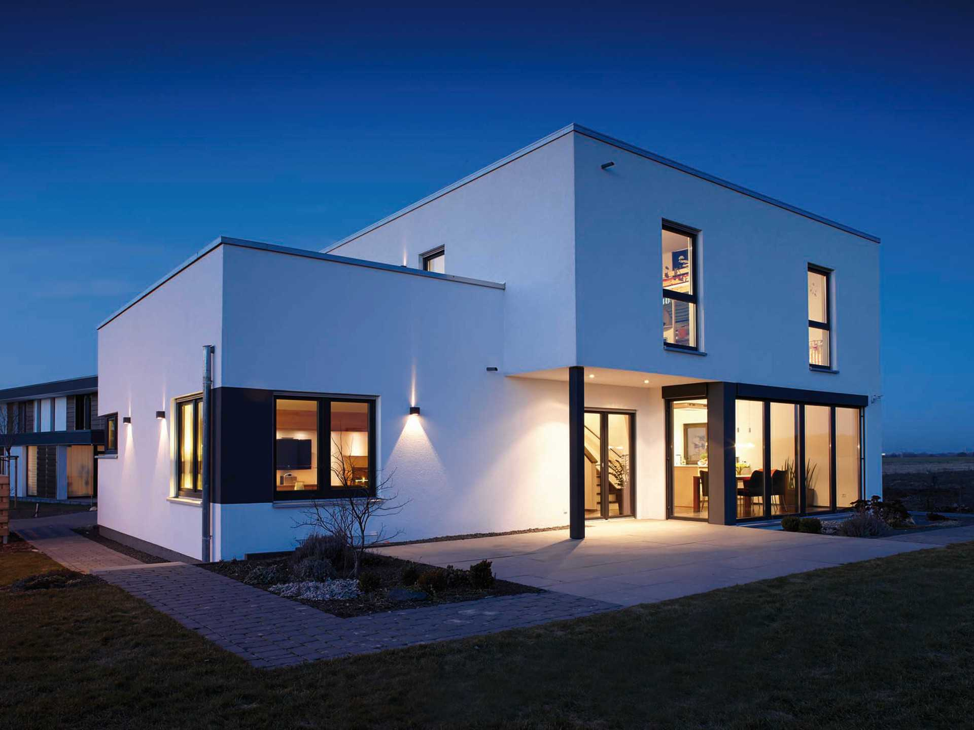 Architektur trend haus fingerhaus for Haus bauen moderne architektur