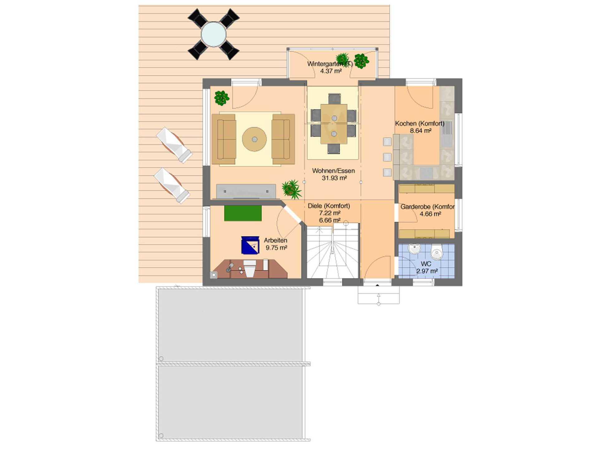 Fingerhaus grundrisse  Frei geplantes Kundenhaus - FingerHaus