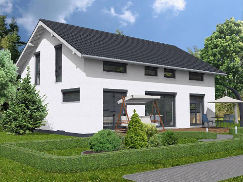 Satteldachhaus Hamm von sc. Massivhaus-Wonnegau