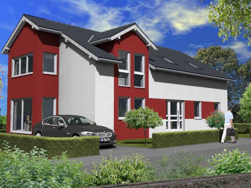 zweifamilienhaus m rstadt sc massivhaus wonnegau. Black Bedroom Furniture Sets. Home Design Ideas