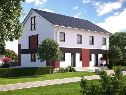 Haus Duo 148 von Bärenhaus
