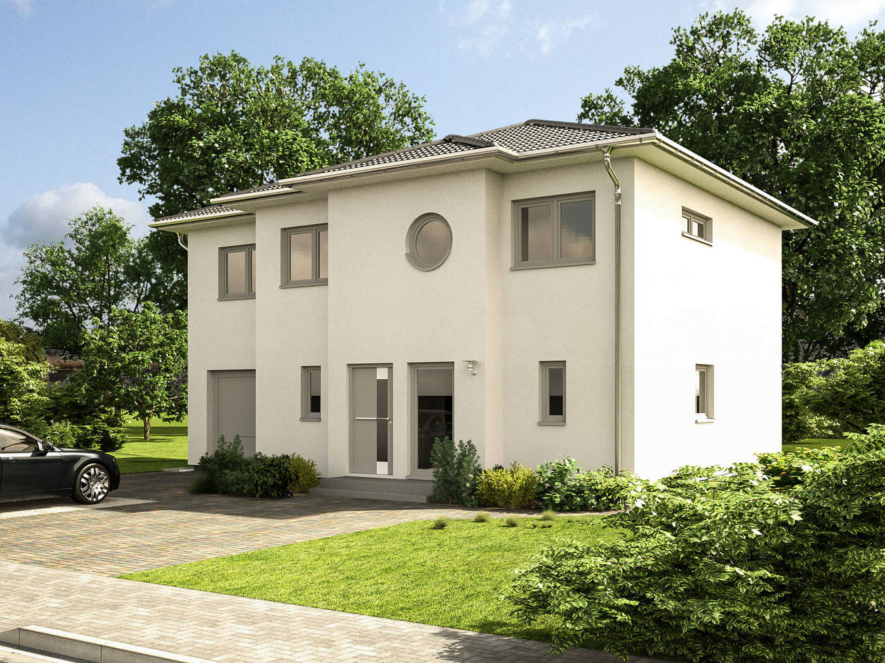 Stadtvilla EOS 161 von Bärenhaus