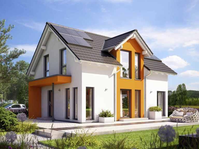 Einfamilienhaus SUNSHINE 125 V3 - Living Haus
