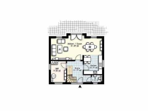 Haus Polaris 2 - OLFA-Haus GmbH Grundriss EG