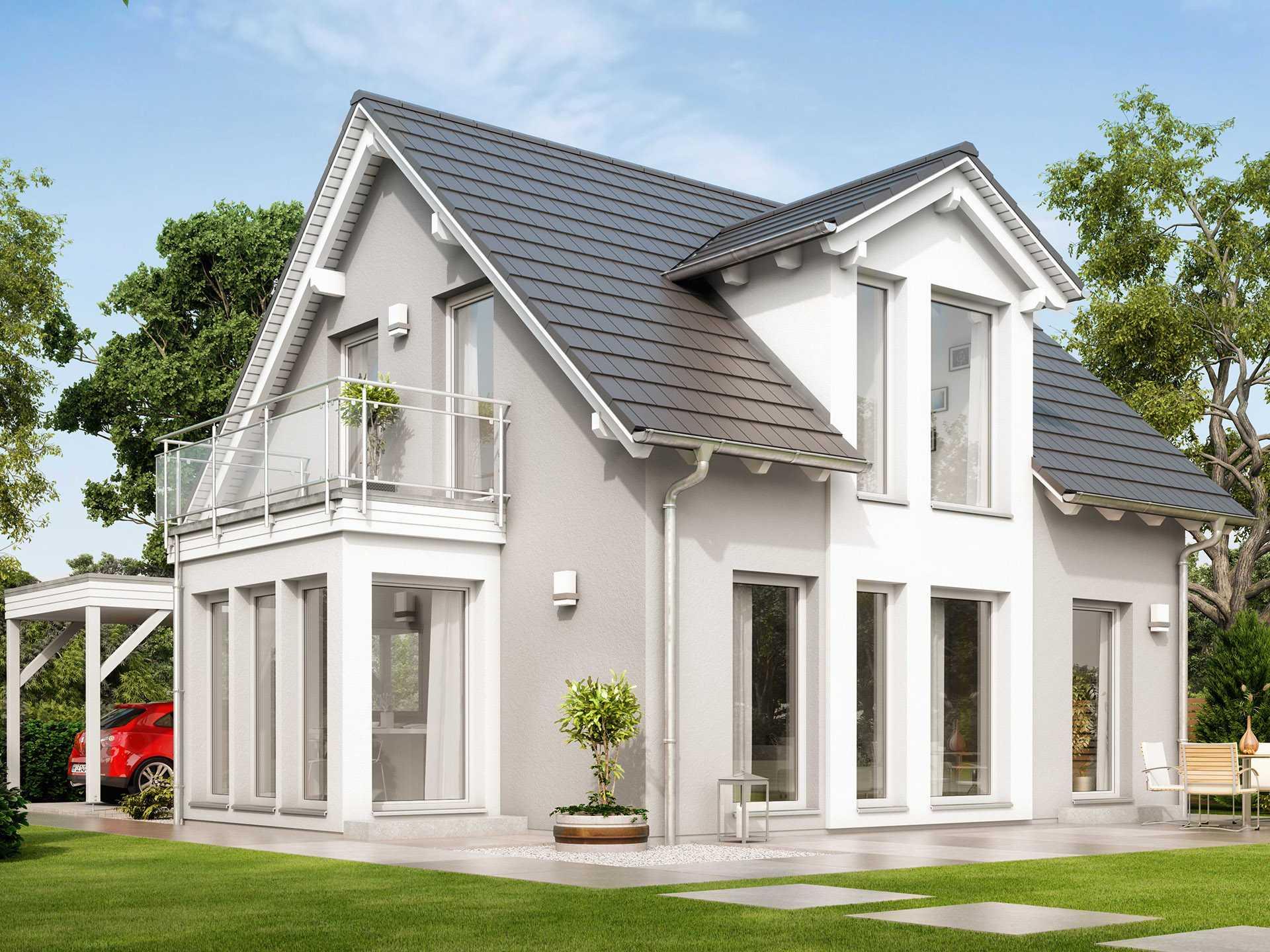 ^ Haus SOLUION 106 V2 - Living Haus - Bien-Zenker GmbH