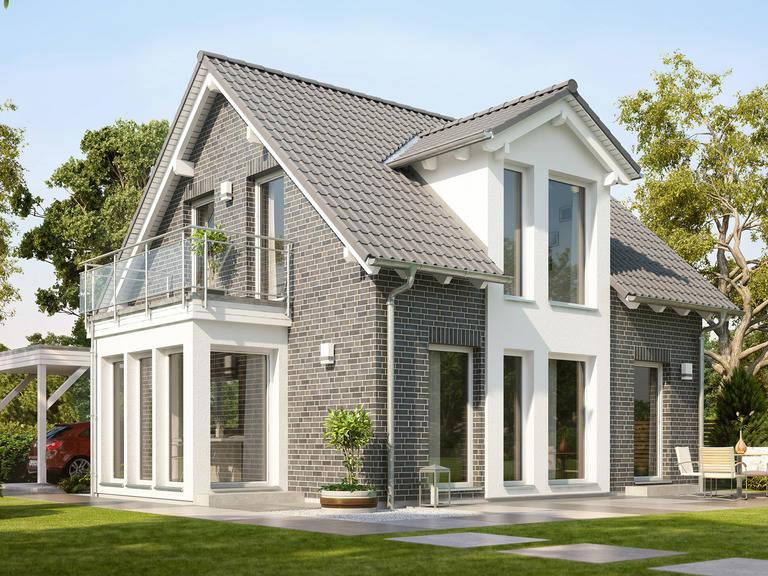 Haus Solution 106 V2 Klinker von Living Haus