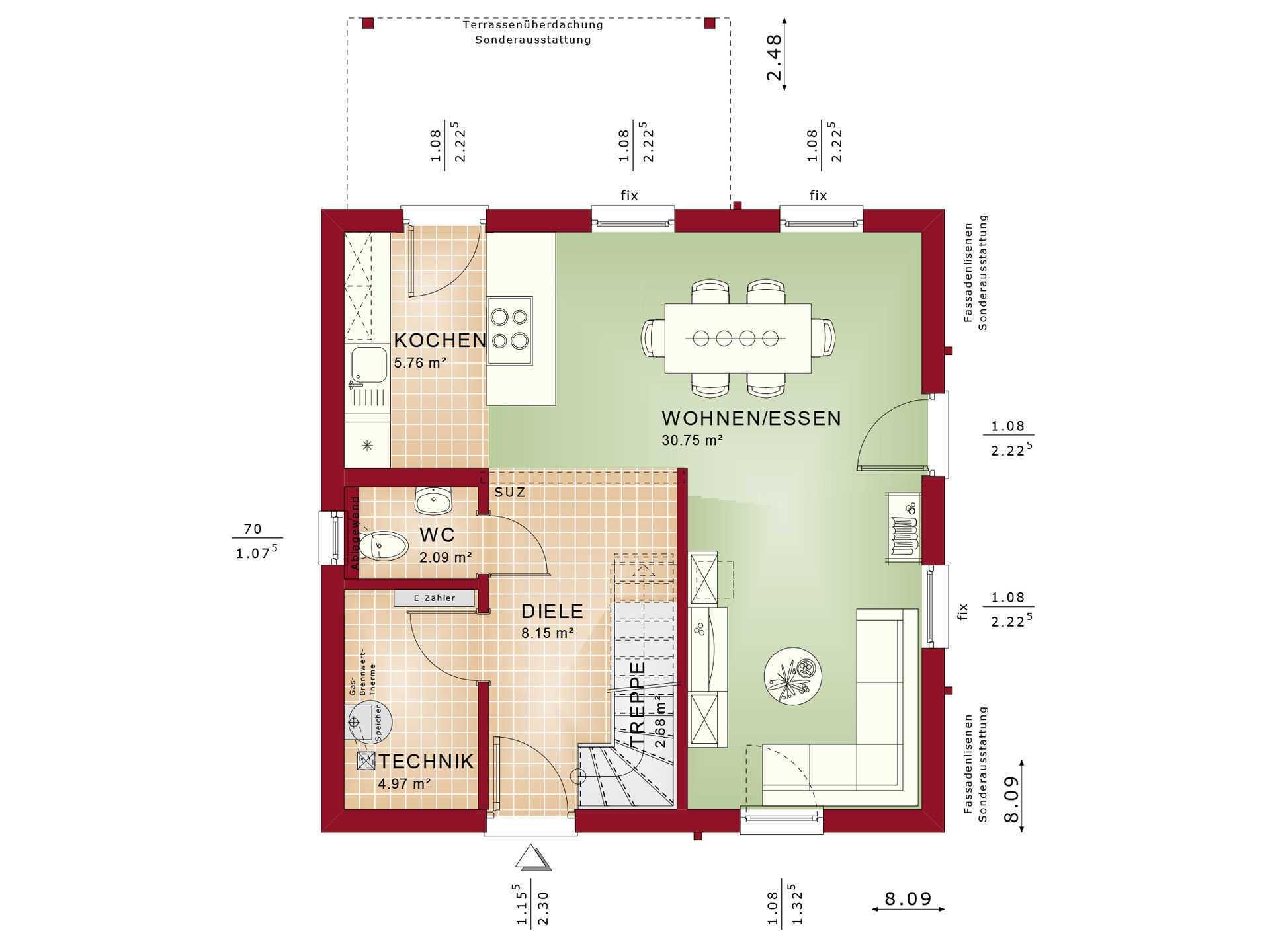 Haus Solution 106 V3 EG von Living Haus