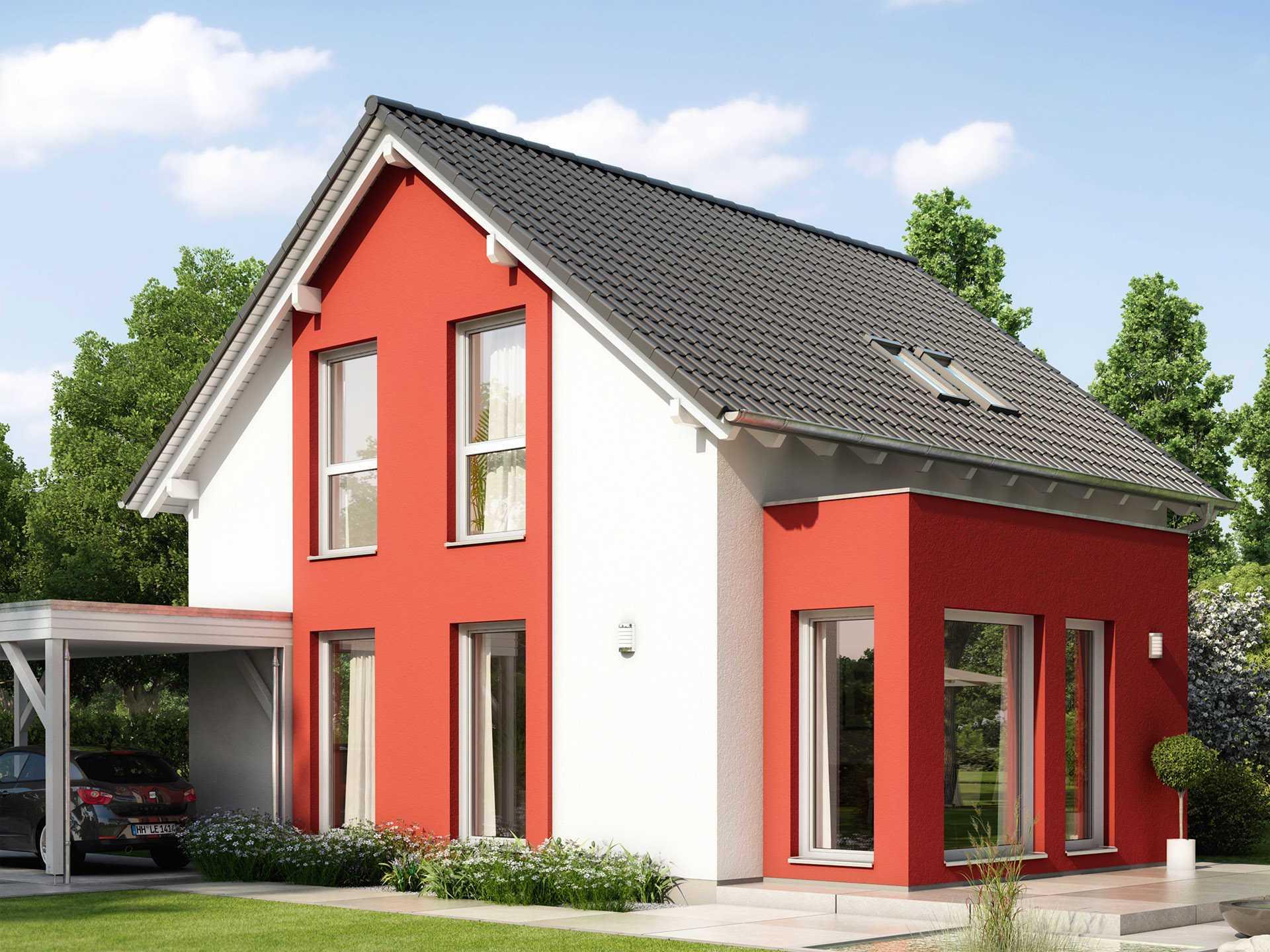 ^ Haus SOLUION 106 V4 - Living Haus - Bien-Zenker GmbH